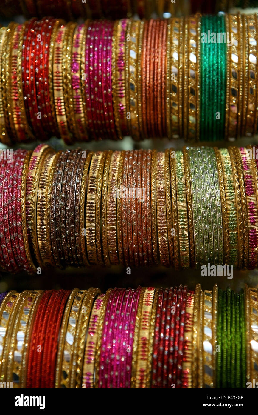 Indian colorfull schiave Immagini Stock