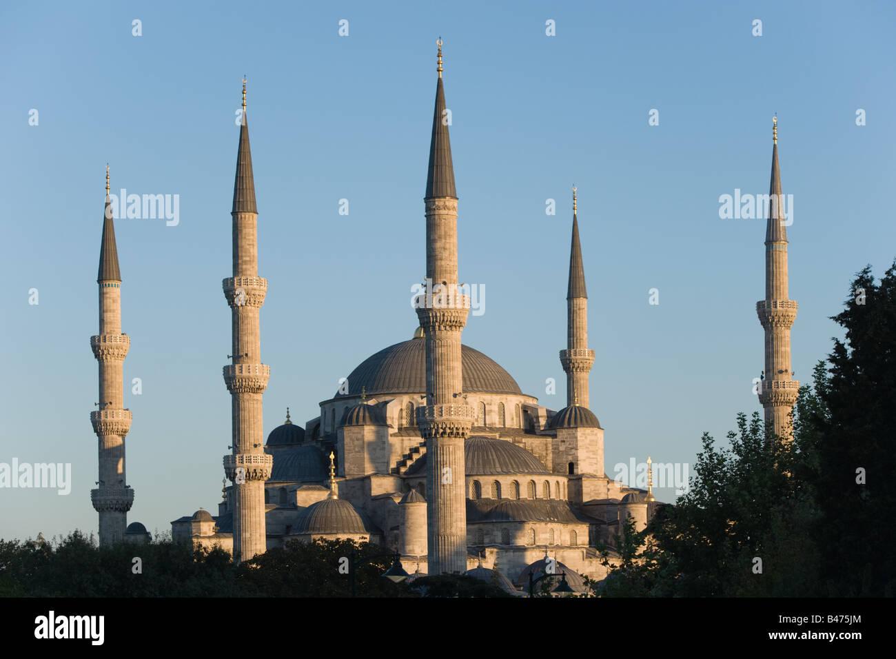 La Moschea Blu di Istanbul Immagini Stock