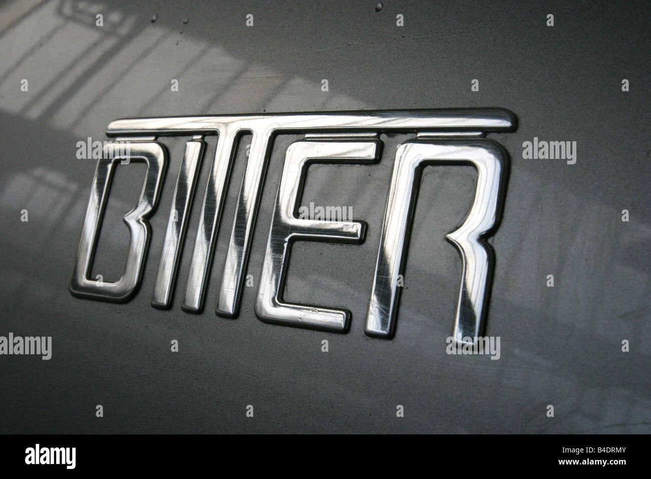 Auto, V8 Coupé Concept di Erich Bitter, argento, roadster, anno modello 2003, 340 PS, 5.665 cms, € 112.520, Immagini Stock