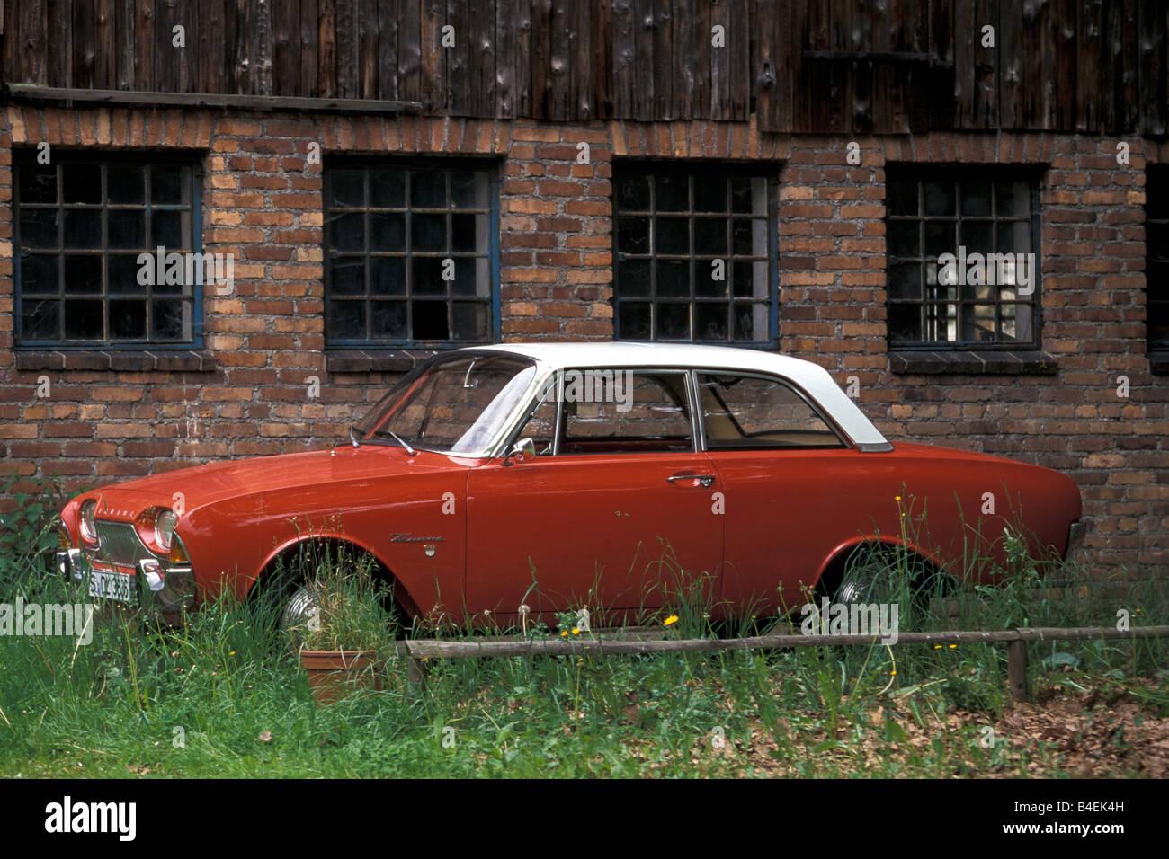 Vasche Da Bagno D Epoca : Auto ford taunus 17m p3  vasca da bagno  rosso bianco anno