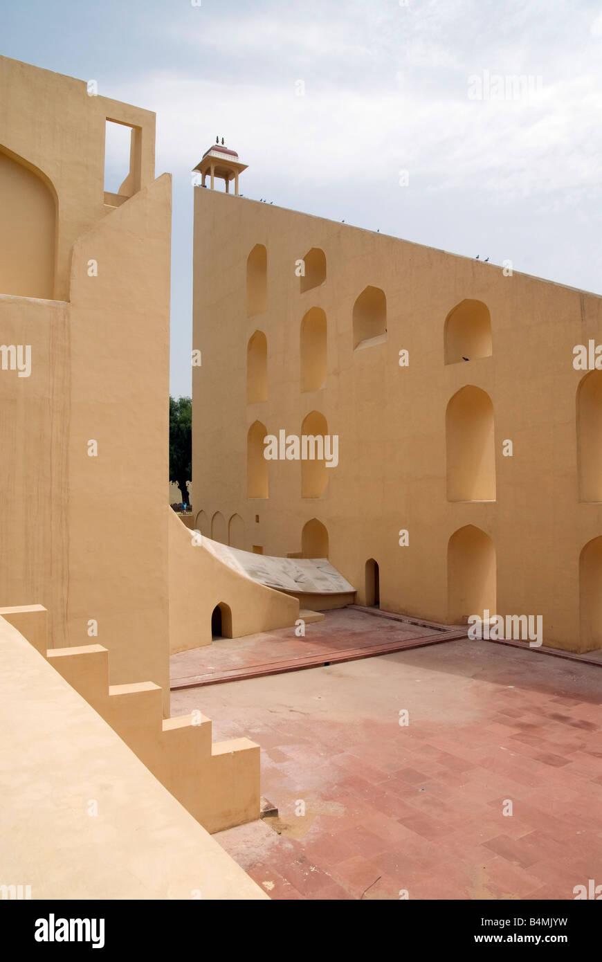 India Rajasthan Jaipur Jantar Mantar observatory Immagini Stock