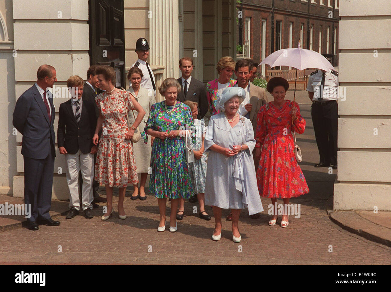 Foto Natale Famiglia Reale Inglese 1990.La Famiglia Reale Immagini E Fotos Stock Alamy
