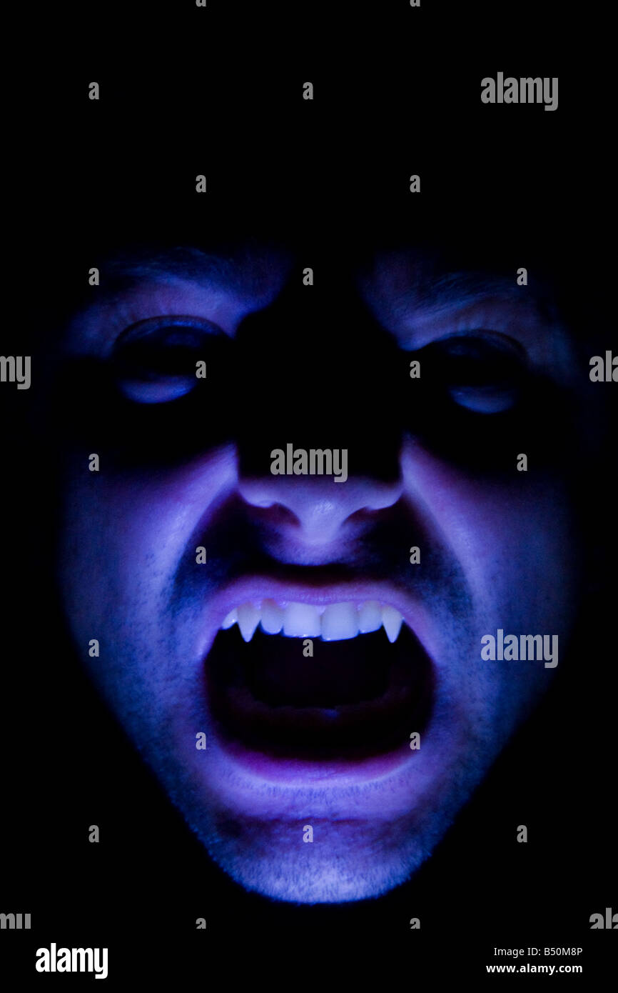 Fronte del vampiro Immagini Stock