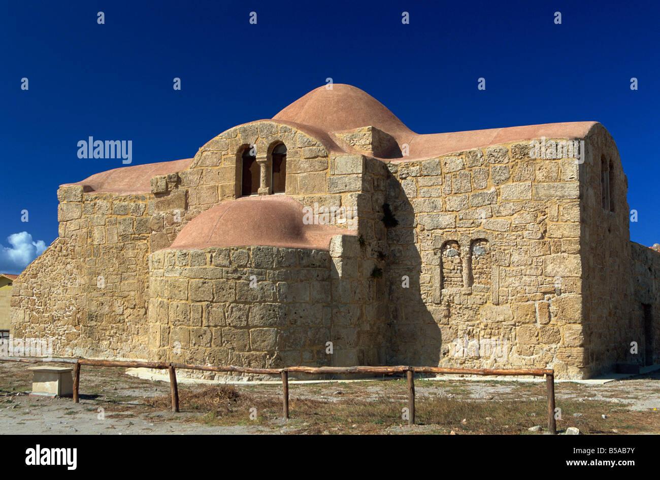 San Giovanni di Sinis, vicino ad Oristano, Sardegna, Italia, Europa Foto Stock