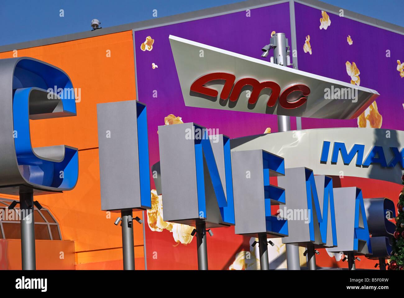 LA California Los Angeles CA Universal City Walk Citywalk AMC cinema IMAX holiday holidays travel us stati uniti Immagini Stock