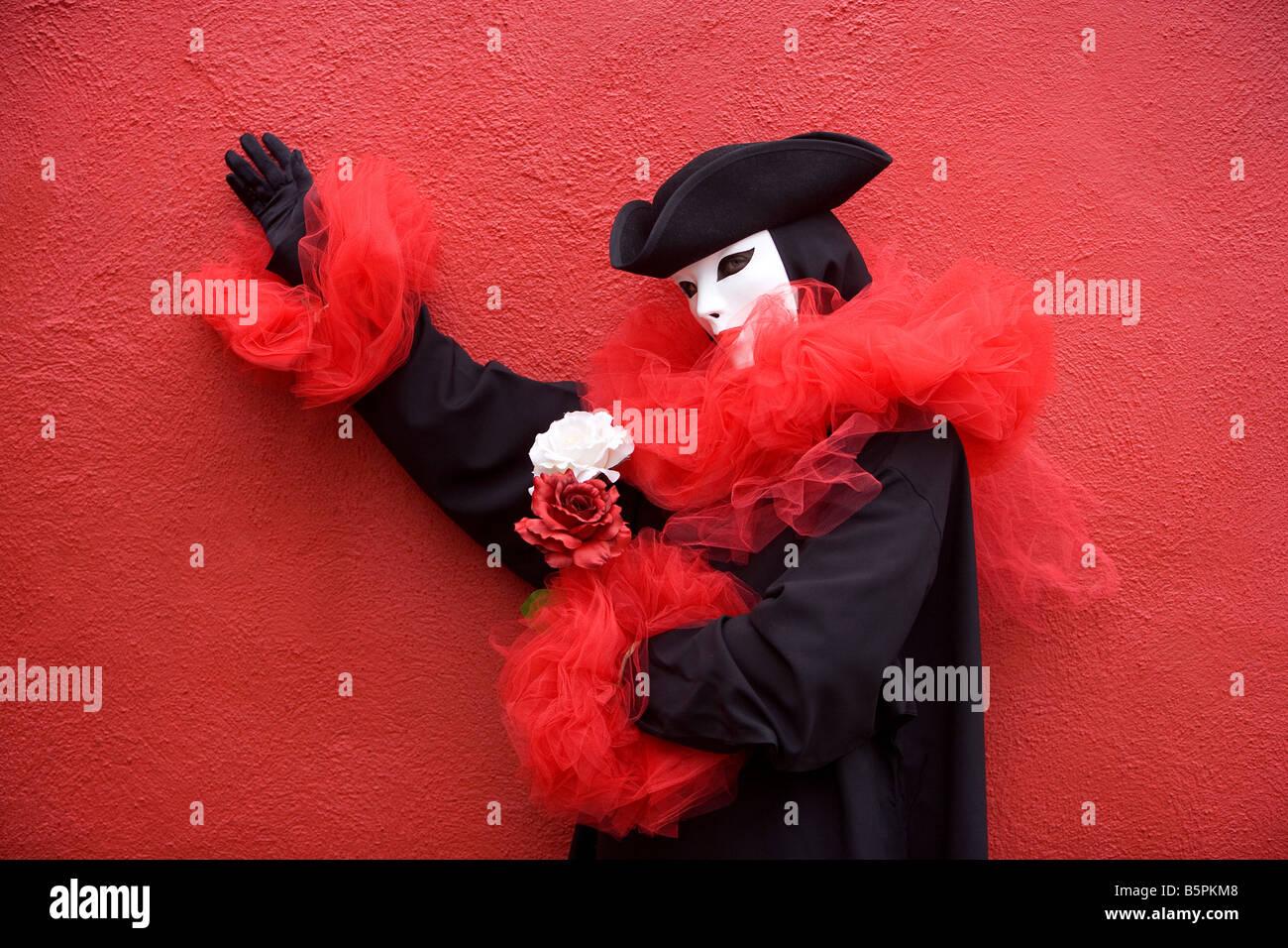 Carnevale a Venezia, Italia Immagini Stock