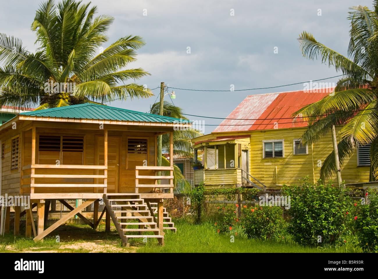 Case Piccole In Legno : Belize city case architettura locale di piccole costruzioni in