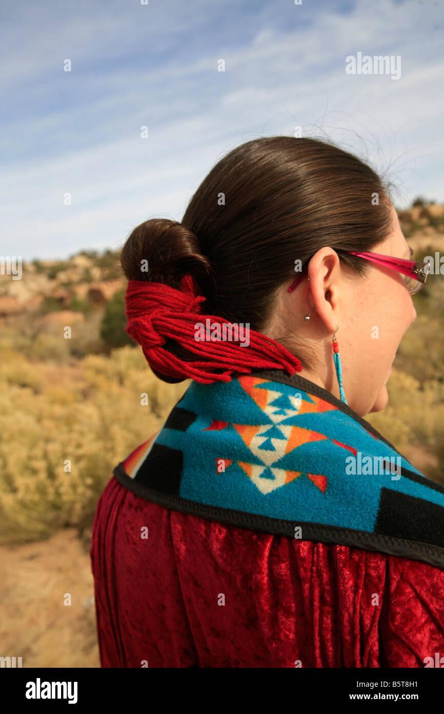 Navajo Riserva Navajo Arizona Foto Stock