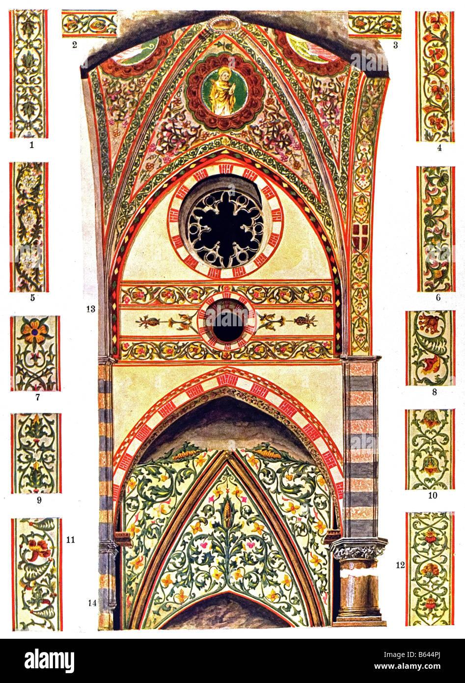 cerca genuino trova il prezzo più basso enorme inventario Decorazione gotica in Italia, pitture murali nel 14. secolo ...