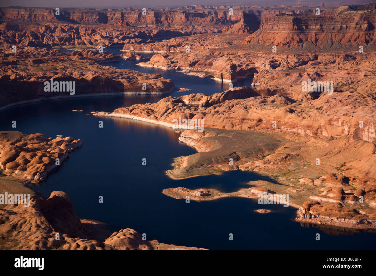 Il Lake Powell e Glen Canyon National Recreation Area Utah Immagini Stock