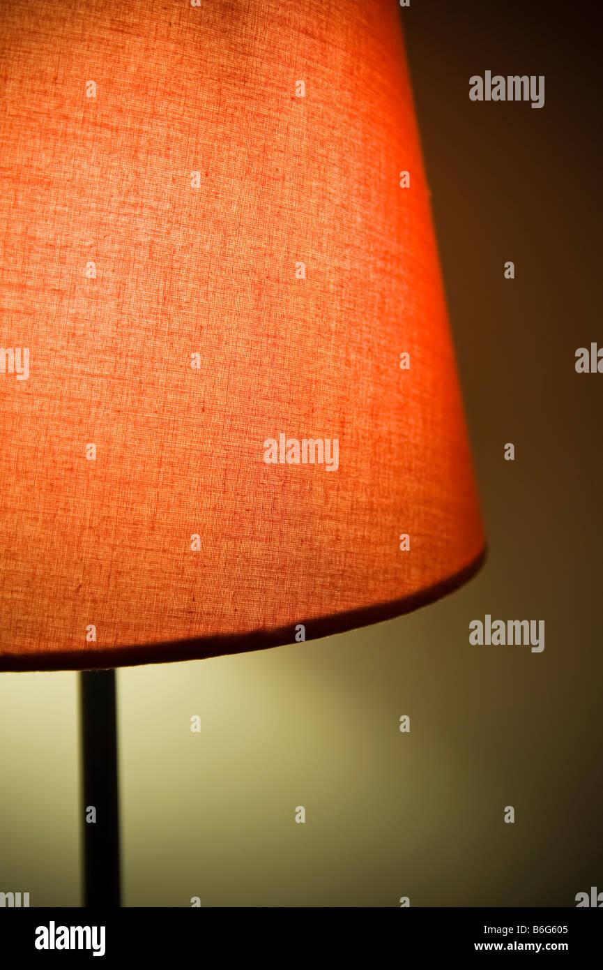 Close-up di luce rossa. Immagini Stock
