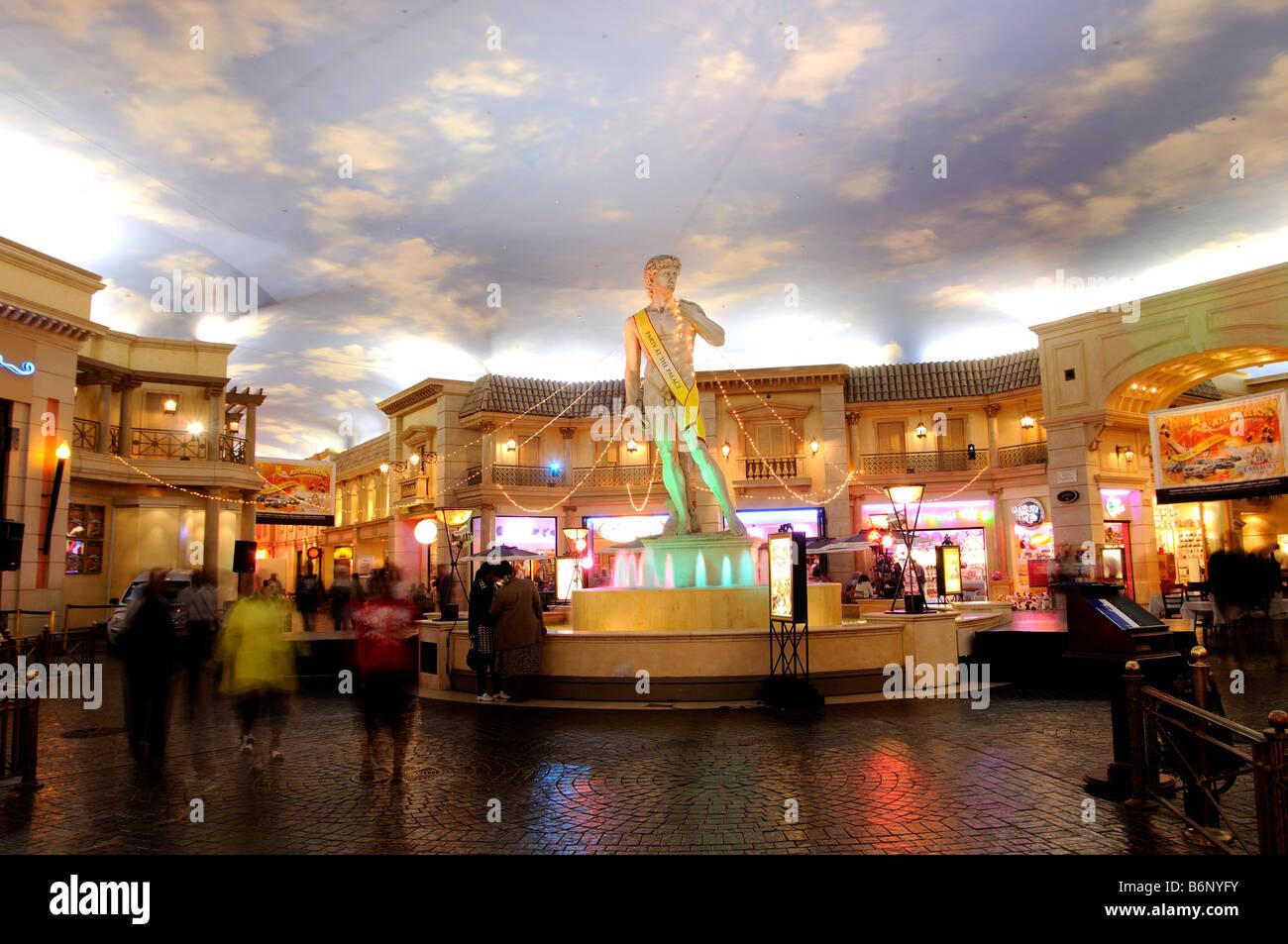 Palazzo imperiale mall Johannesburg Sudafrica Immagini Stock