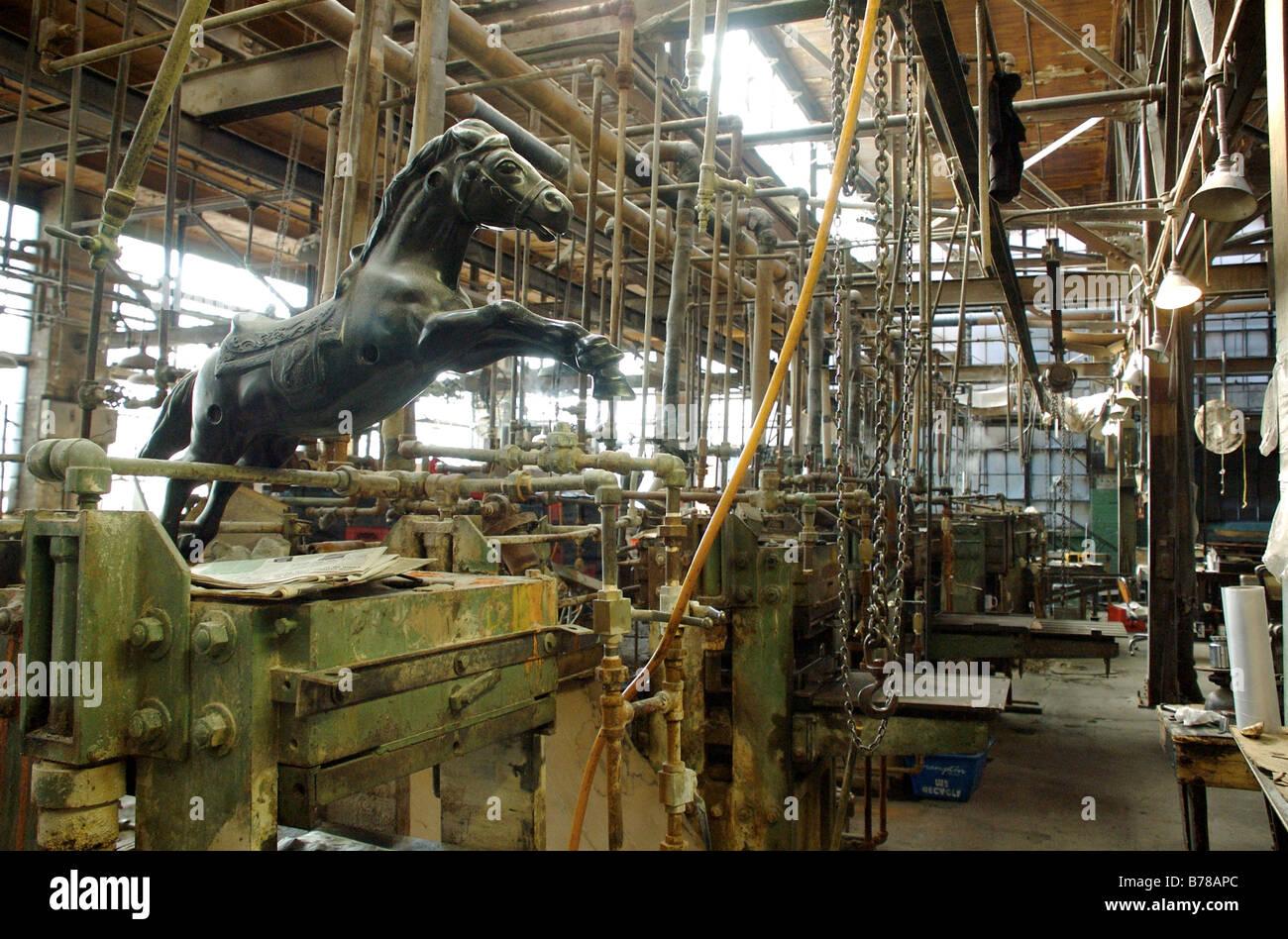 A west end Toronto fabbrica in fase di chiusura e di riqualificazione del sito Immagini Stock