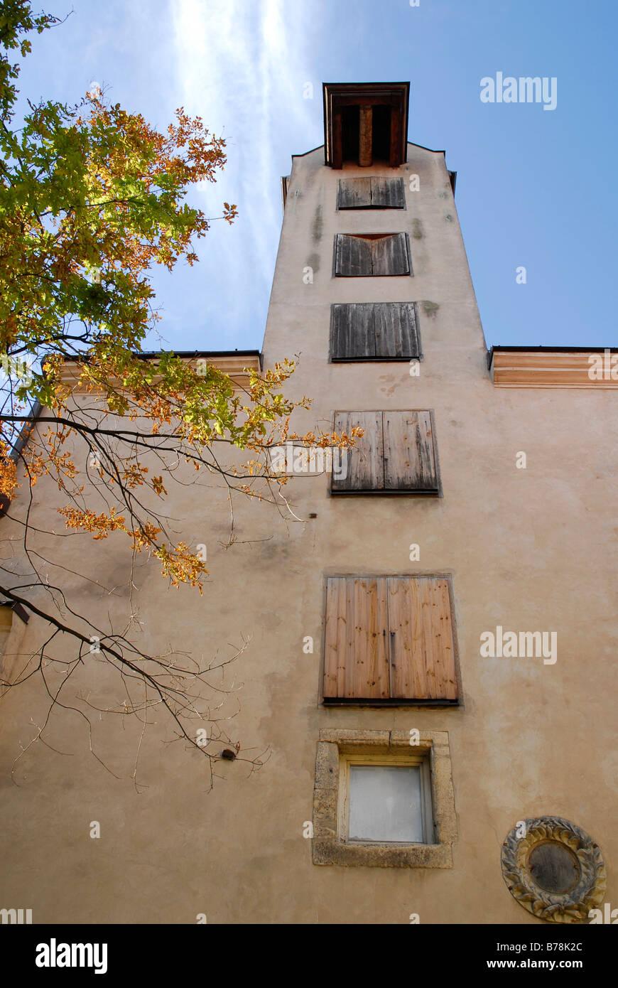 Konventa Seta, cortile del convento nel centro storico della città, Vecriga, Riga, Lettonia, Paesi baltici, Immagini Stock