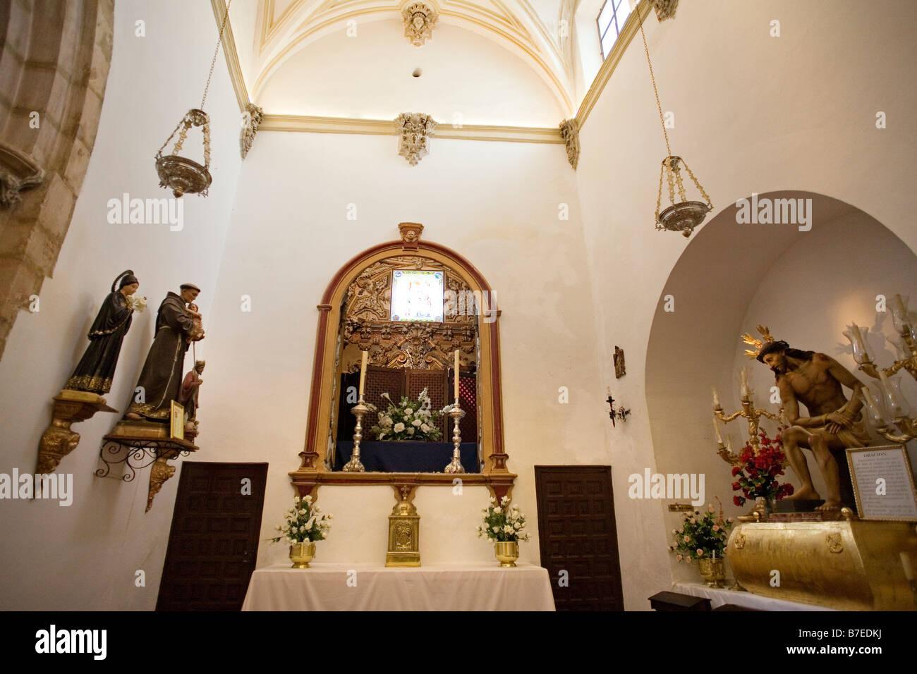 Chiesa di Padre Gesù Ronda Serrania de Ronda Malaga Andalusia Spagna Immagini Stock