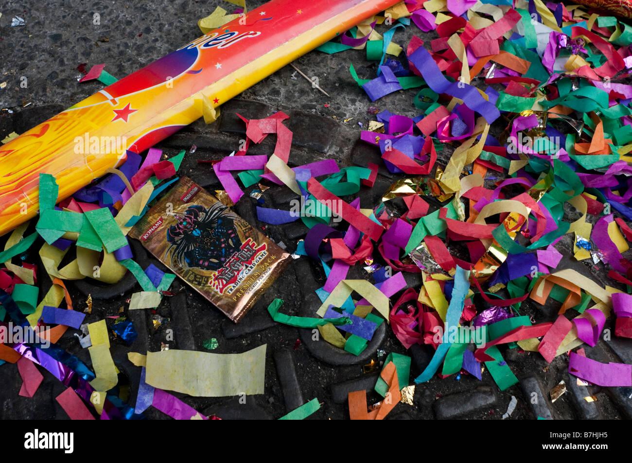 New York NY 26 gennaio 2009 Chinatown marchi comunitari il nuovo anno lunare Immagini Stock