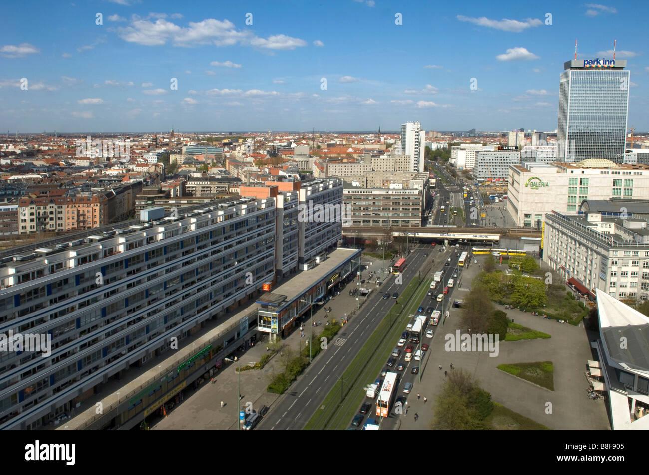 Berlino Germania capitale Viaggi in Europa Immagini Stock