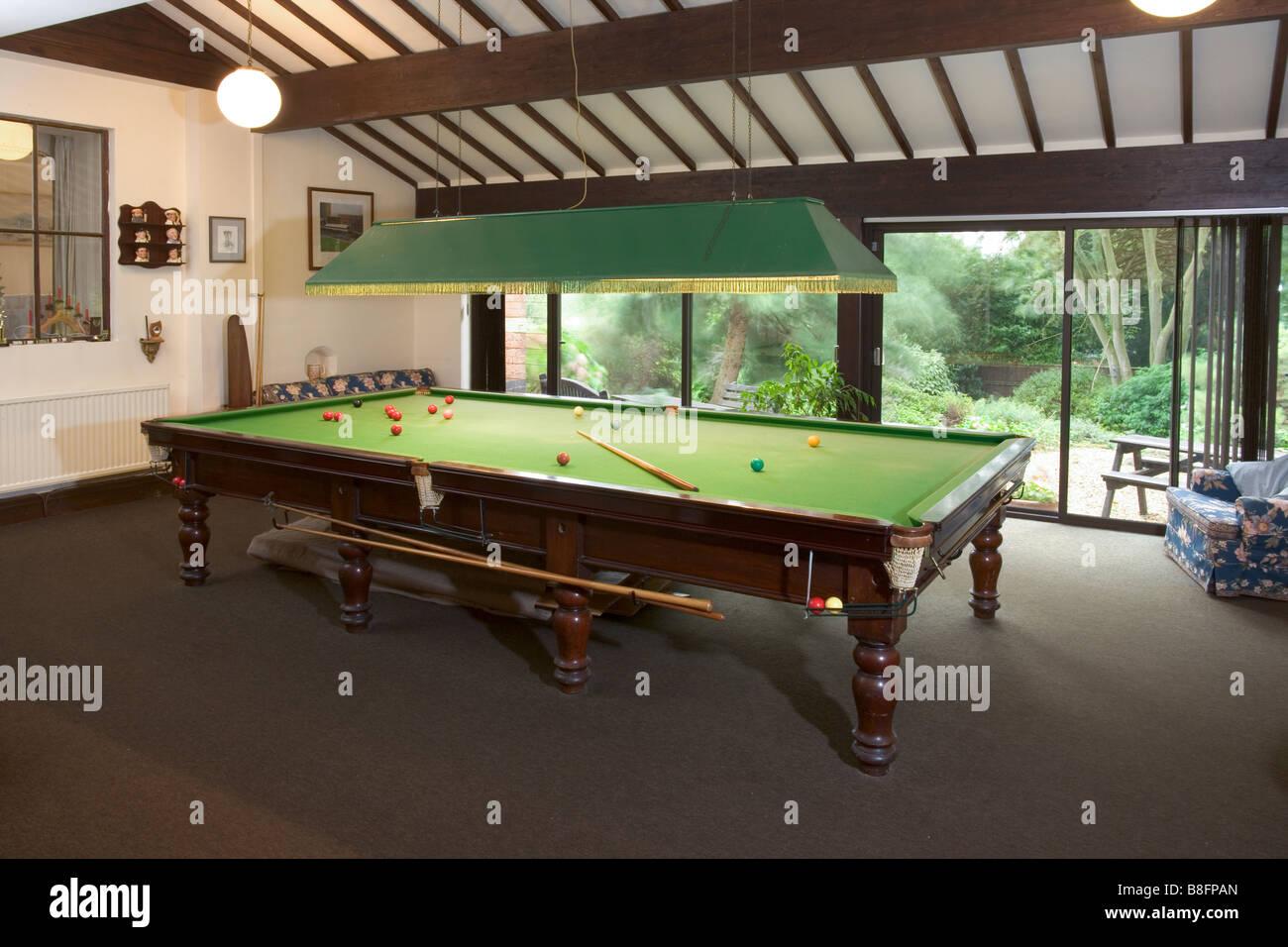 Sala Giochi Privata : Regno unito una grande sala giochi privata tavolo da biliardo