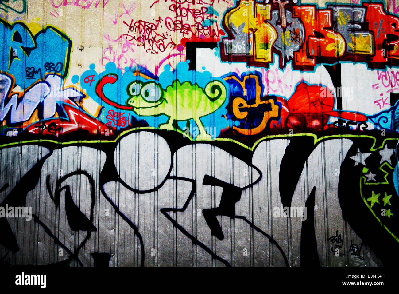 graffitti Immagini Stock