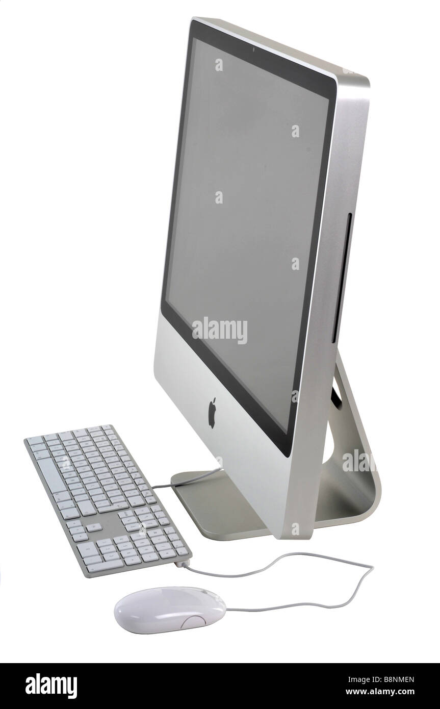"""Apple Macintosh"" iMac 24' Immagini Stock"
