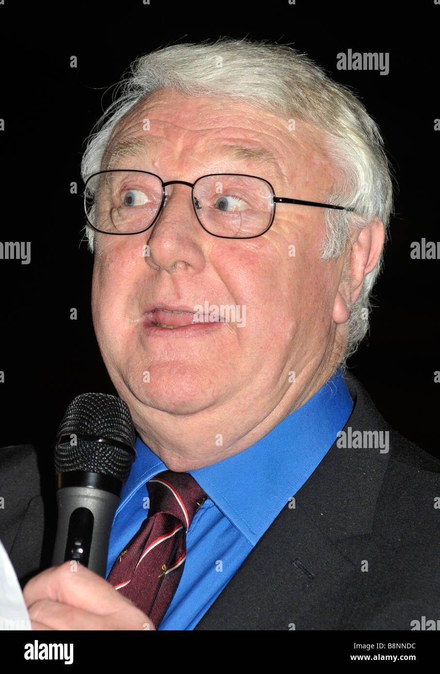 'John Carter' 'giornalista TV' 'viaggio presenter' Immagini Stock