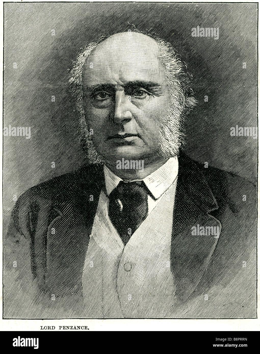 Signore Penzance James Plaisted Wilde 1816 1899 giudice britannico giardiniere amatoriale Immagini Stock