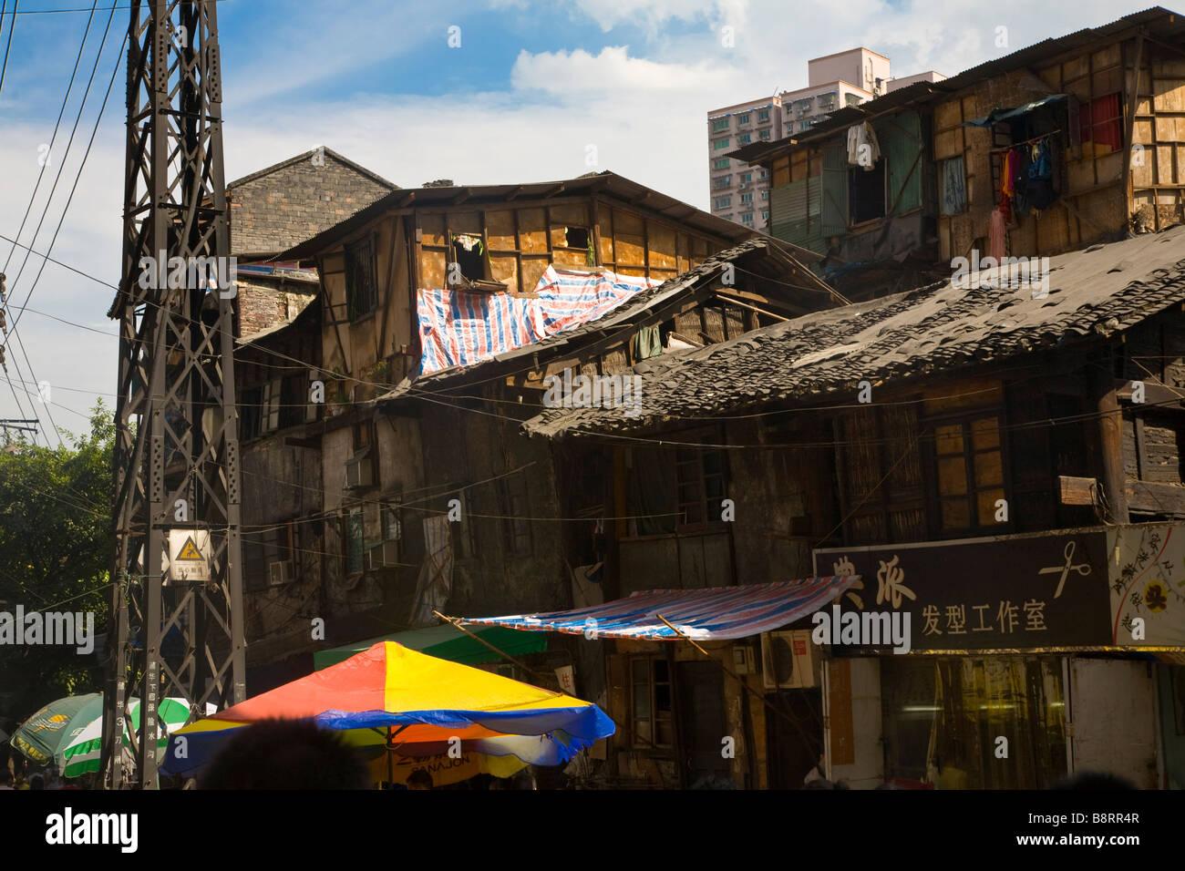 Case Tradizionali Cinesi : Cinese tradizionale in muratura telaio in legno case nella città