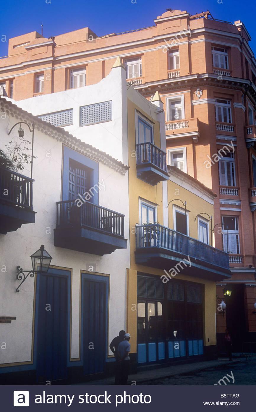 Vista l\'Hotel Ambos Mundos a l\'Avana, Cuba, dove Hemingway ...