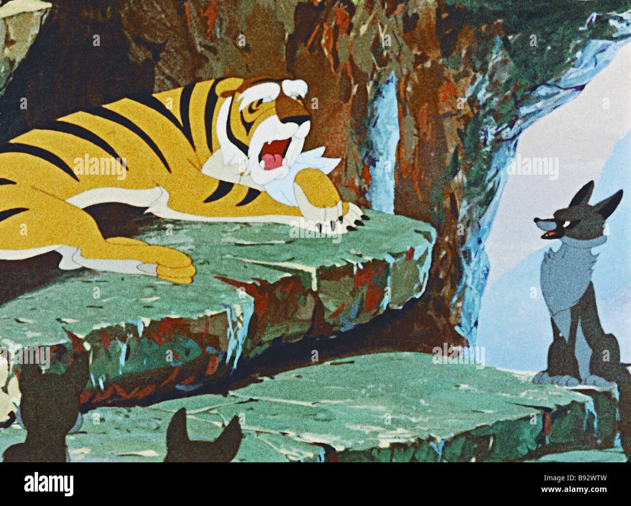 Un ancora da sovietica di cartone animato il piccolo shega