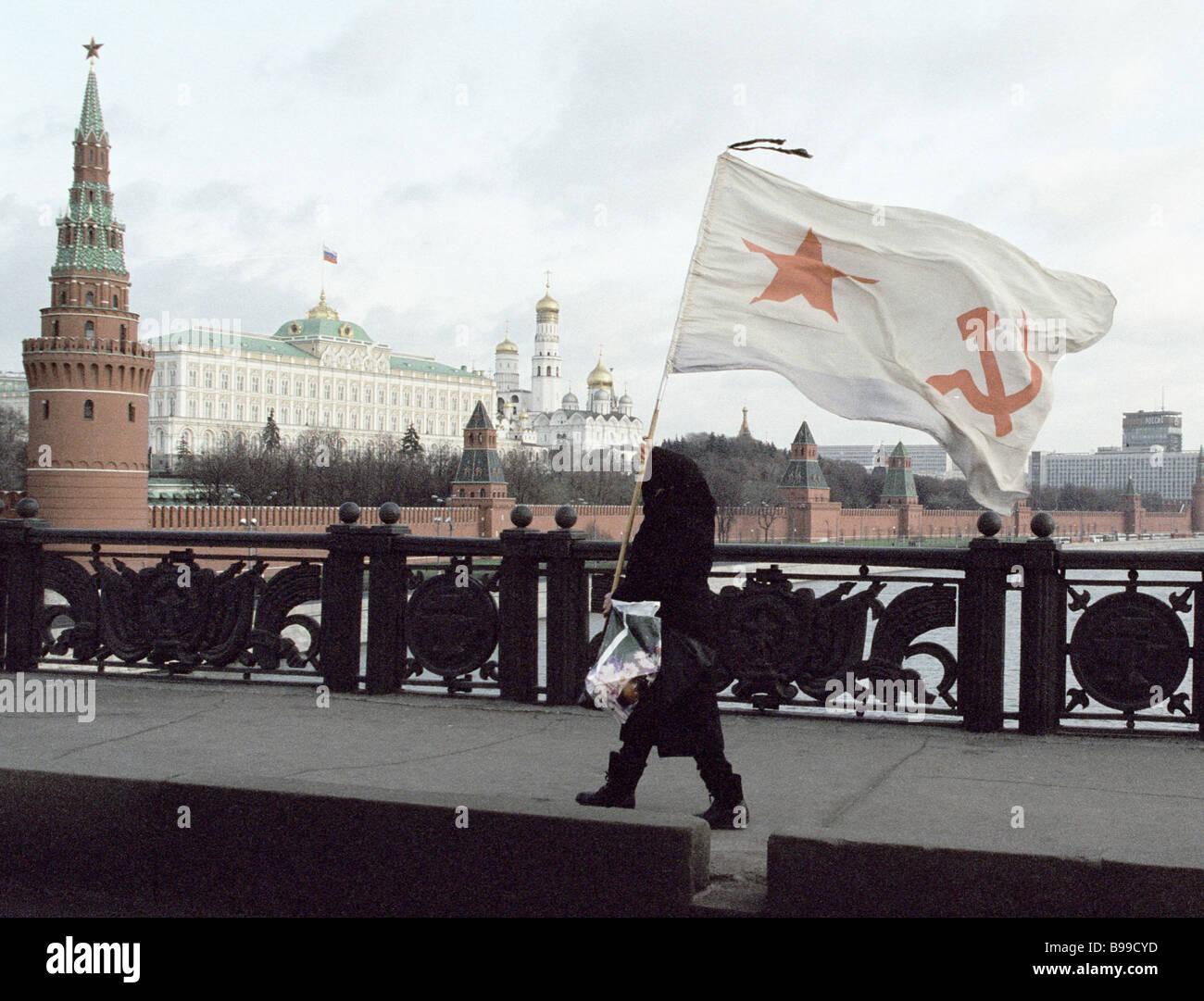 Incontri bandiere rosse a cercare in una donna