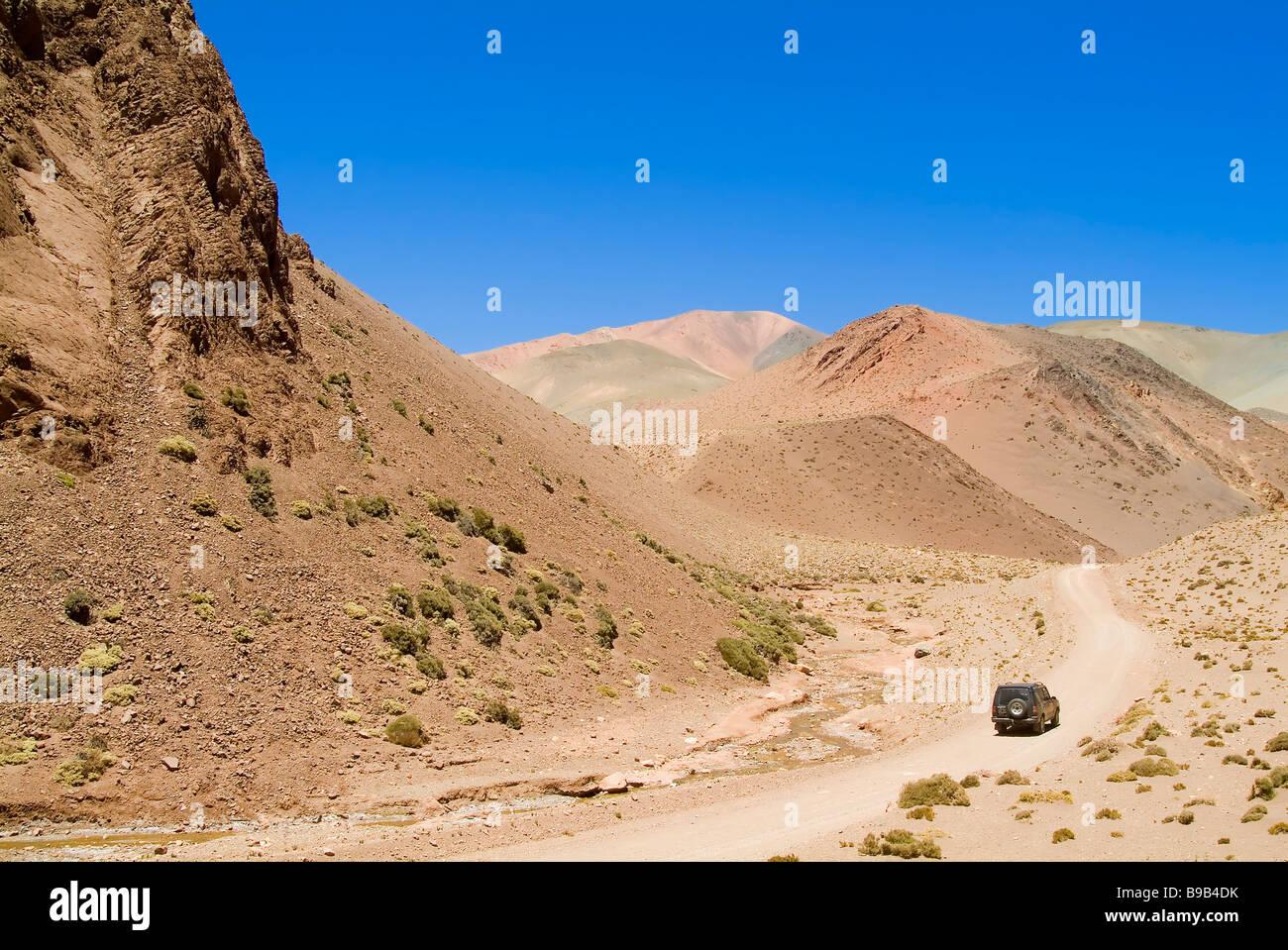 Reserva Provincial Las Vicuñas e Laguna Brava Foto Stock