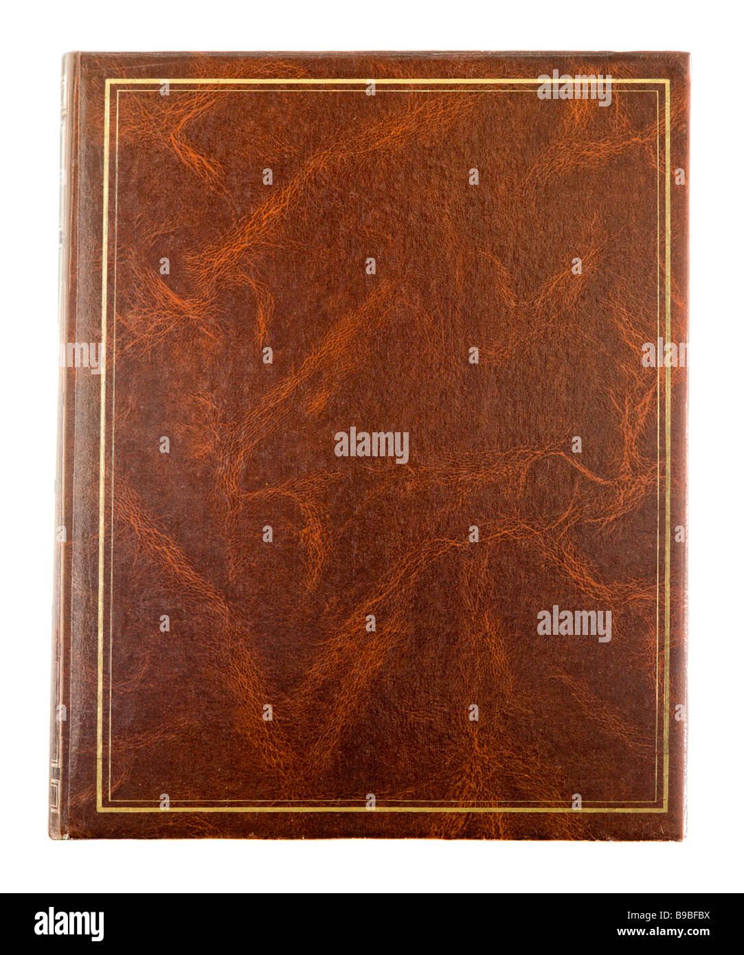 Copertina di libro Immagini Stock