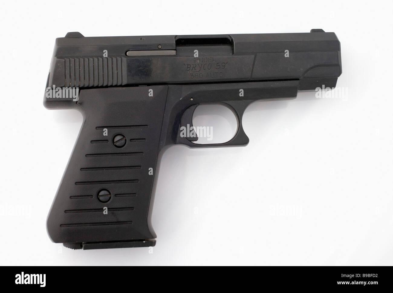 Sabato notte pistola speciale. Immagini Stock