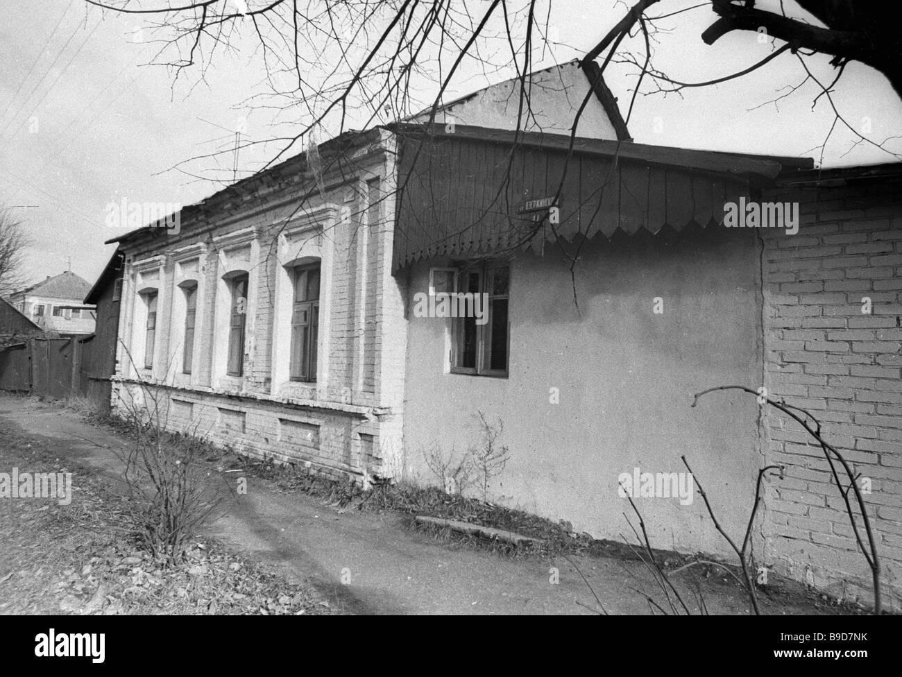 L'artista Marc Chagall s house di Vitebsk Immagini Stock