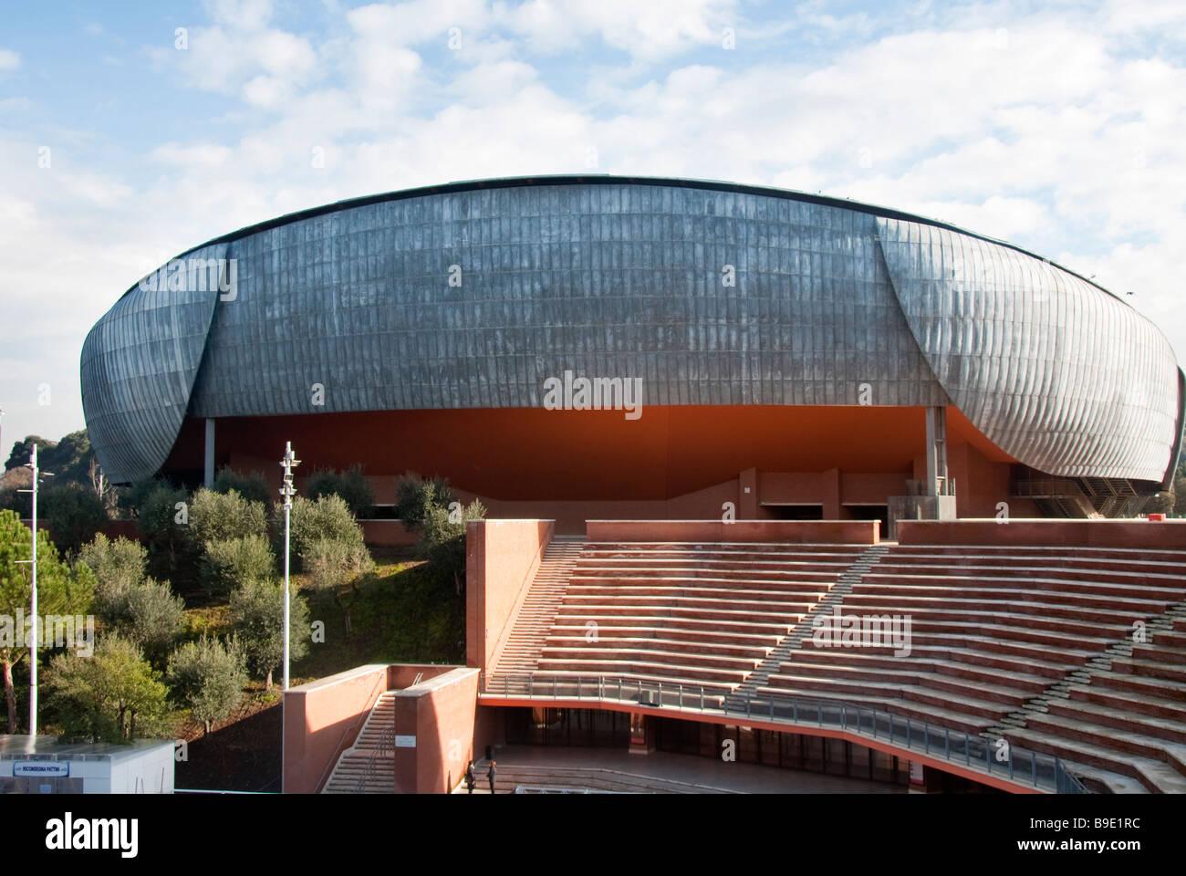 Sale Parco Della Musica Roma : L auditorium una delle tre sale da concerto nel parco della musica