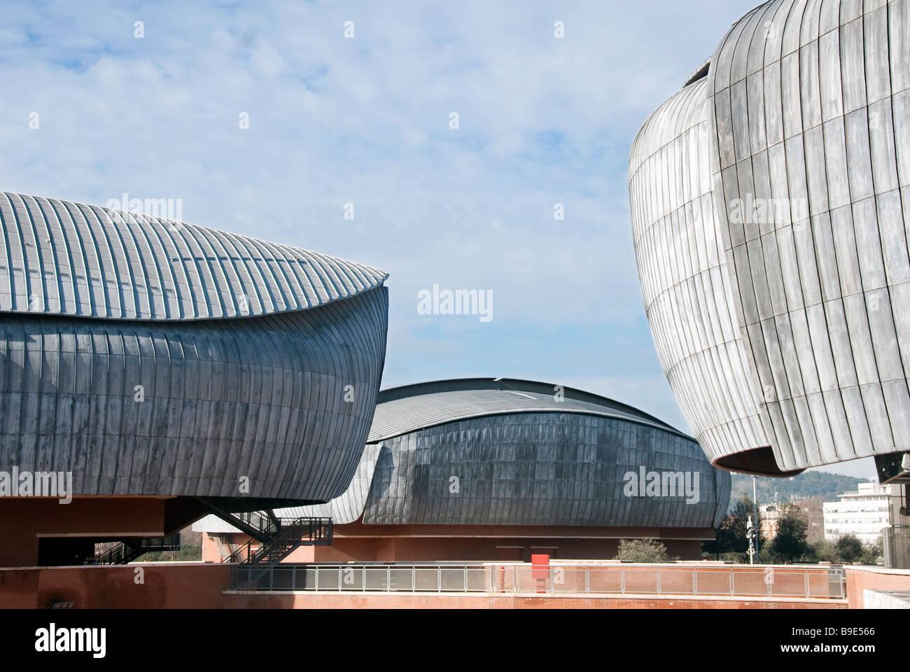 Sale Parco Della Musica Roma : Tetti di piombo dellauditorium tre sale da concerto nel parco