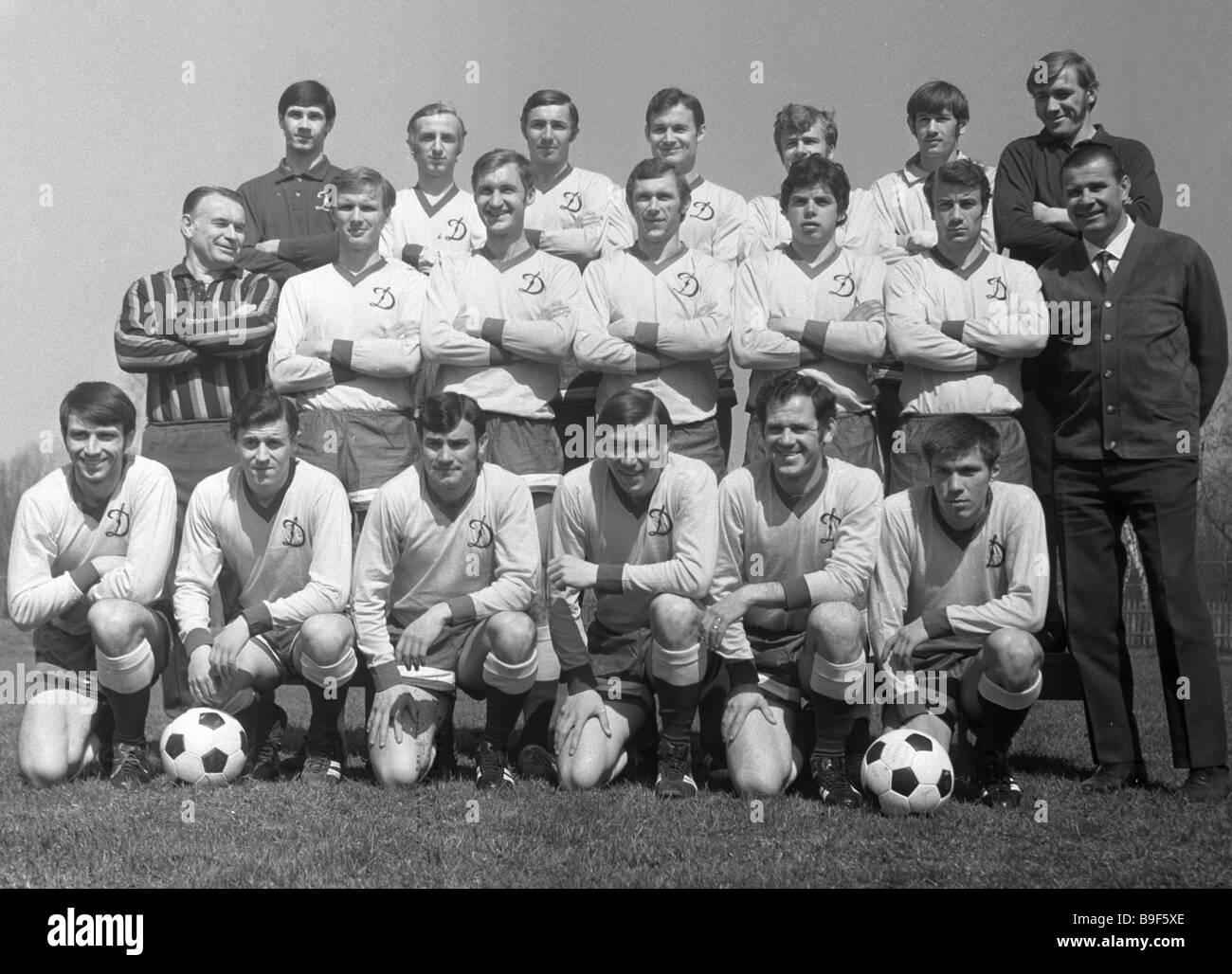 Dinamo Mosca finalista del Parlamento Cu Winners Cup Immagini Stock