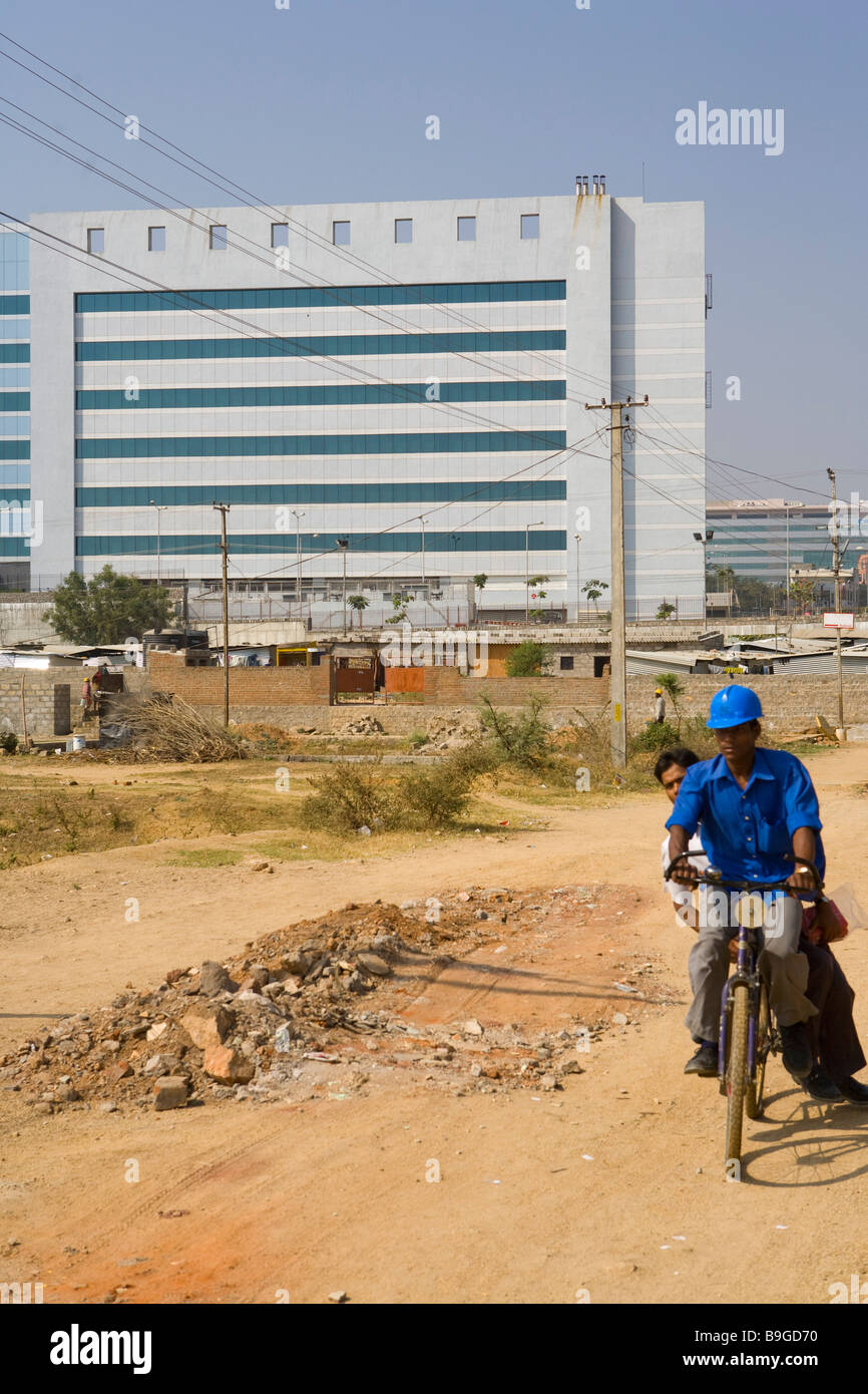 India Hyderabad Hi Tech city Foto Stock