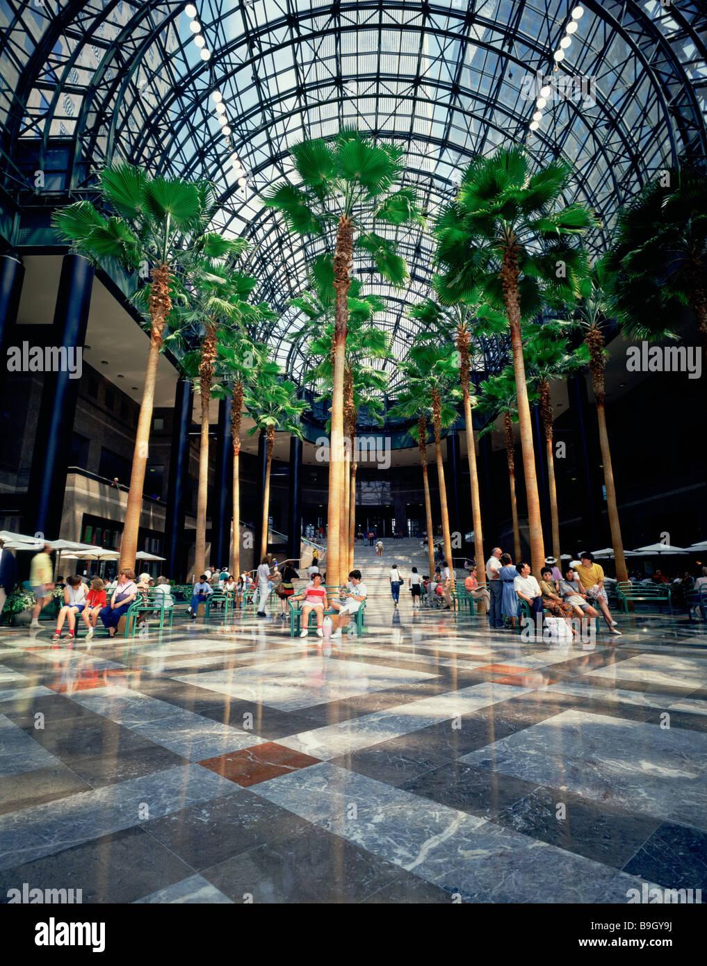 Giardino D Inverno In Vetro stati uniti new york world financial center giardino d
