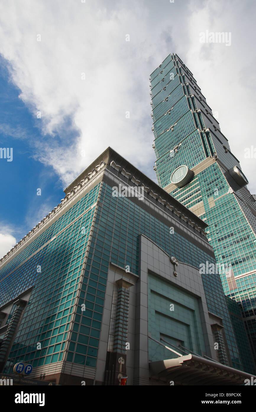 Taipei 101, Taipei, Taiwan Immagini Stock