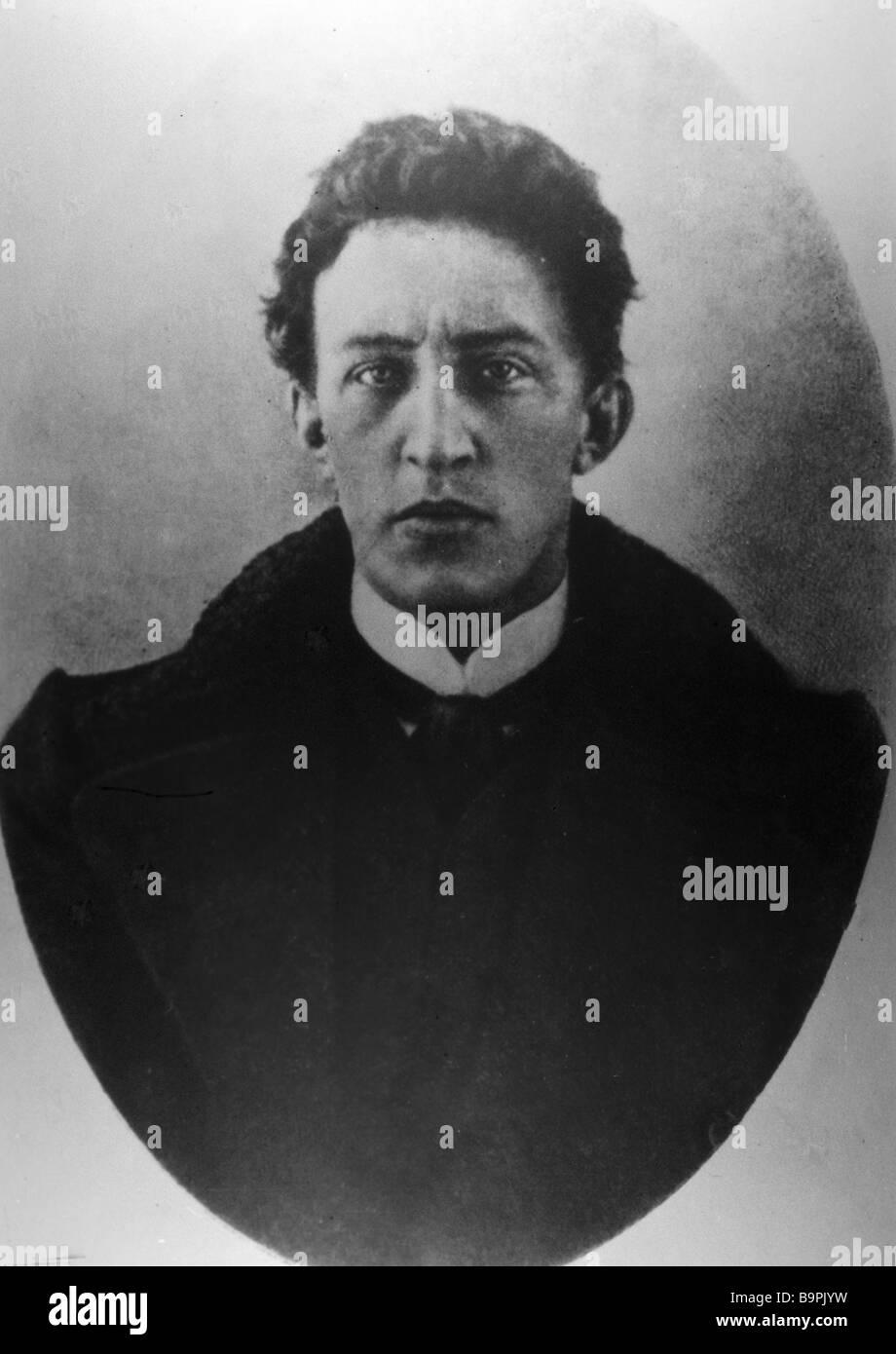 Poeta Alexander Blok 1880 1921 Immagini Stock