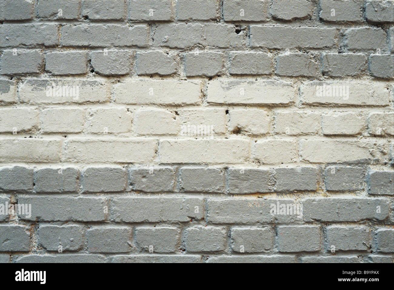 Dipinto di un muro di mattoni Immagini Stock