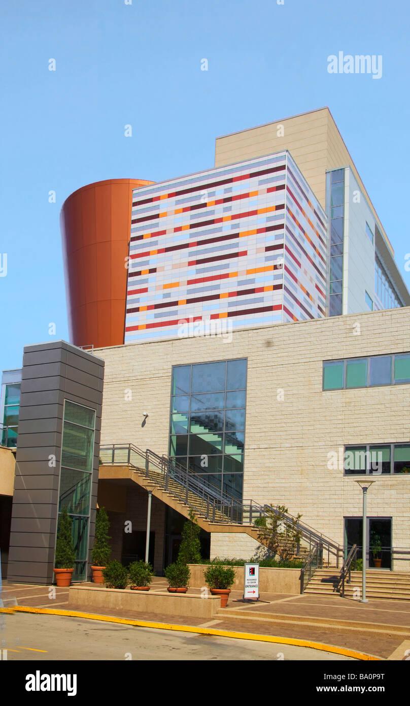 Il Muhammed Ali Centro in Museum Row in Occidente quartiere principale di Louisville, Kentucky Immagini Stock