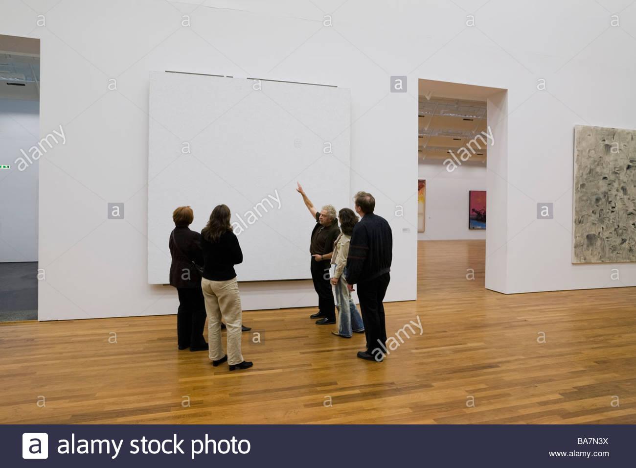 Giacometti dipinti nel Kunsthaus Art Museum, Zurigo, Svizzera Immagini Stock