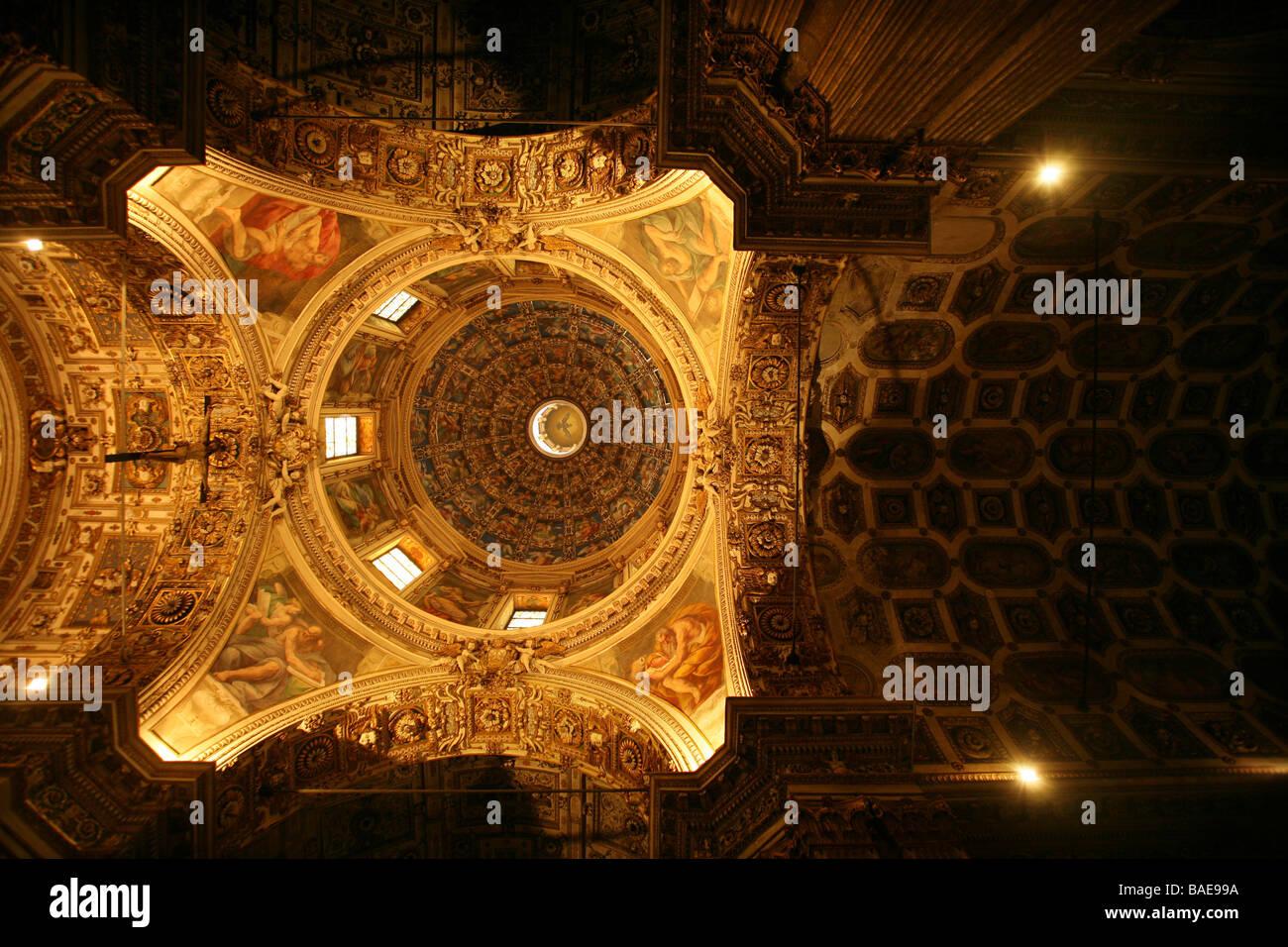 San Vittore al Corpo Chiesa, Arch.Vincenzo Seregni e Galeazzo Alessi, XVI secolo, Milano, Lombardia, Italia Immagini Stock