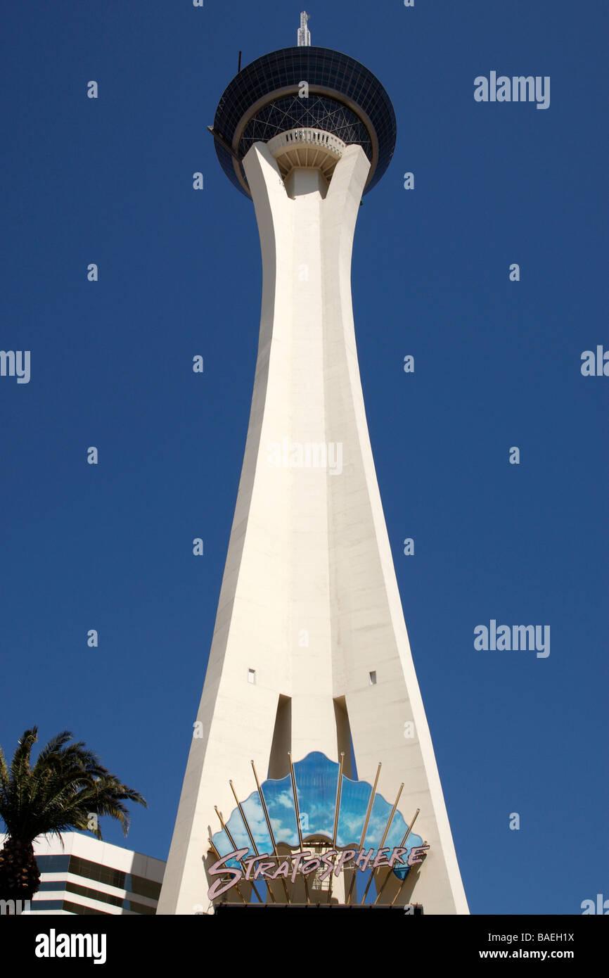 Stratosphere Tower las vegas boulevard las vegas nevada usa Foto Stock