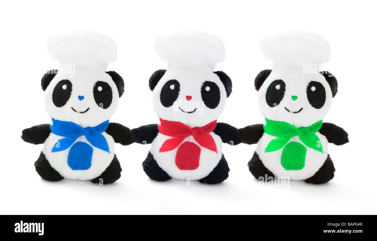Peluche Panda Immagini Stock