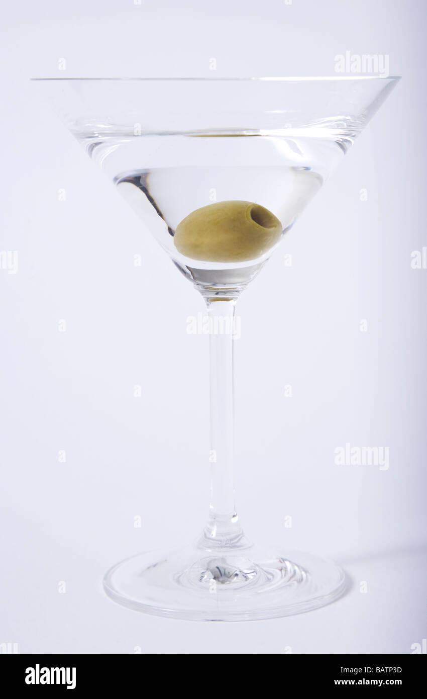 "Cocktail ""Vodka Martini"" 007 ""james bond"" Immagini Stock"