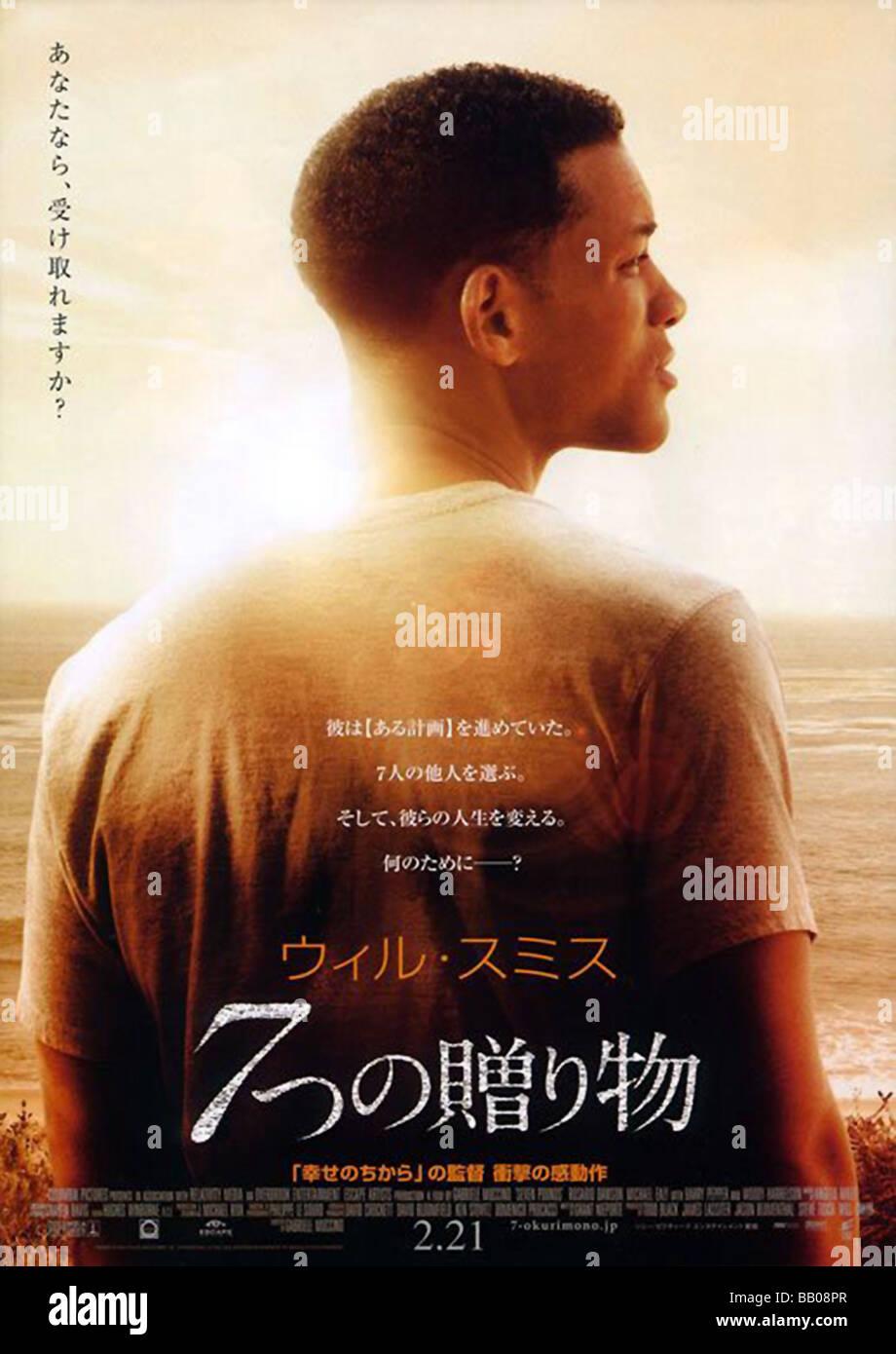 Seven Pounds Anno : 2009 Direttore : Gabriele Muccino Will Smith, poster (Giappone) Immagini Stock