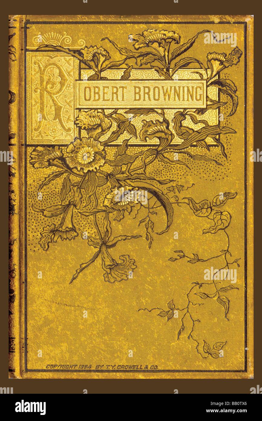 Robert Browning Immagini Stock